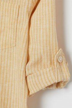 Рубашка H&M 2011-8150791 Желтая