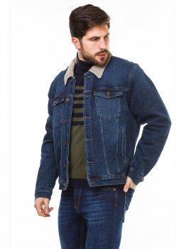 Джинсовая куртка Remix 810 0353 M189 Y669 JB0301 Темно-синяя