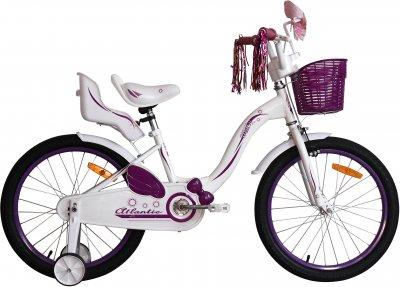 """Велосипед Atlantic Milky CS 20"""" Белый/Фиолетовый (2018719782306)"""