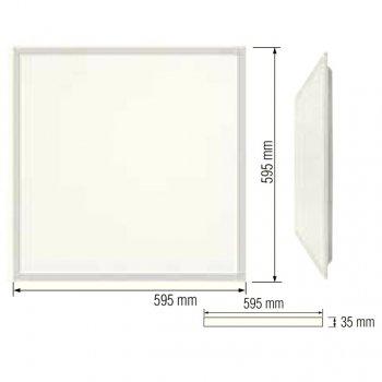 Светодиодная растровая LED-панель типа Армстронг Horoz Electric PLAZMA-45 45W 6400K 056-010-0045