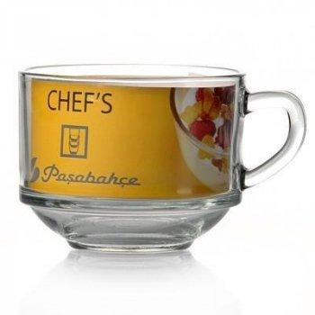 Кружка-бульонница Chefs Pasabahce 630мл стеклянная (PB-55303_psg)