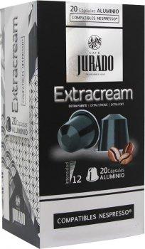 Кава в алюмінієвих капсулах Jurado Aluminium Extracream для системи Nespresso 5 г х 20 шт. (8410894006323)