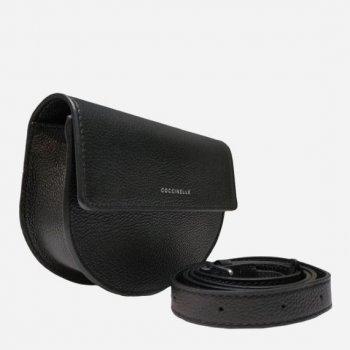 Жіноча сумка шкіряна Coccinelle Mini Bag Pelle Vitello E5EV3570607-001 Noir (8059978215970)