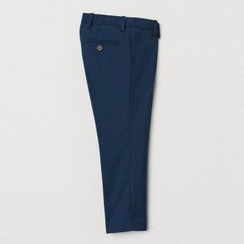 Штани H&M 692846 Темно-сині