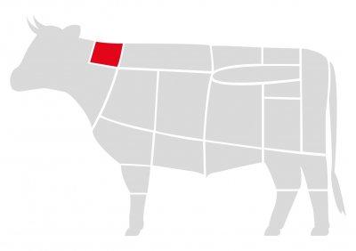 Ошеек говяжий Мястория Абердин выдержанный охлажденны 400 г