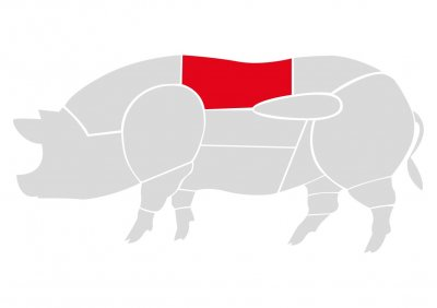 Корейка свиная на кости Мястория 350 г