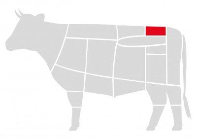 Биток говяжий Мястория Абердин выдержанный 500 г