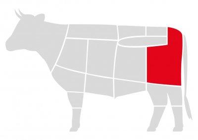 Бифштекс Мястория из говядины Dry-aged 300 г