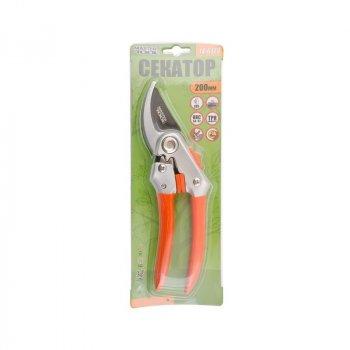 Секатор садовый MASTERTOOL GM 200 мм, ручки AL+PVC, лезвие SK5+ТЕФЛОН 14-6123