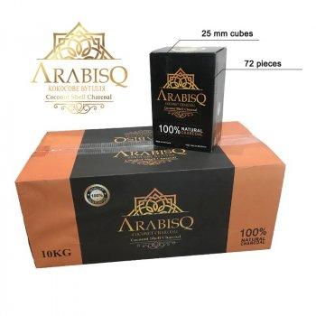 Кокосове вугілля для кальяну ARABISQ 1kg