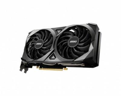 MSI PCI-Ex GeForce RTX 3060 Ti Ventus 2X OC 8GB GDDR6 (256bit) (1695/14000) (HDMI, 3 x DisplayPort) (RTX 3060 Ti VENTUS 2X OC)
