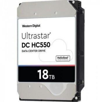 "Жорсткий диск Western Digital Ultrastar DC HC550 18TB 7200rpm 512MB WUH721818ALE6L4 3.5"" SATA III"