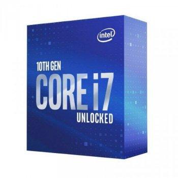 Процесор Intel Core i7-10700KF 3.8 GHz / 16 MB (BX8070110700KF) s1200 BOX