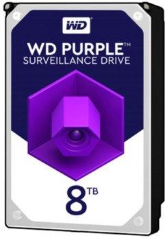 """Жорсткий диск 3.5 """" 8Tb WD WD82PURZ Purple"""