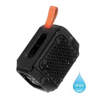 Портативна бездротова блютуз колонка Hopestar P18 Mini Speaker 5 Вт з флешкою радіо FM та вологозахист Bluetooth 4.2 Чорна (48290)