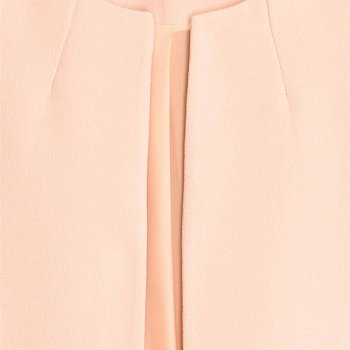 Пальто H&M 4000054-ACUH Бледно-розовое