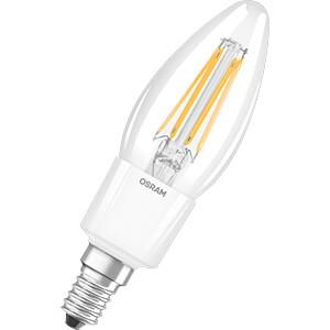 Светодиодная лампа OSRAM LED Star CL B60 DIM 6W/827 230V FIL E14 BLI1 (4058075107786)
