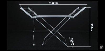 Электрическая сушилка для белья Q-tap Breeze 57702 SIL (SD00034698)