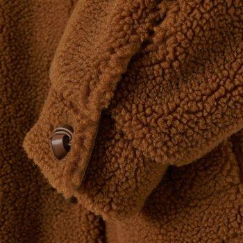 Эко полушубок H&M 0794779 Коричневый