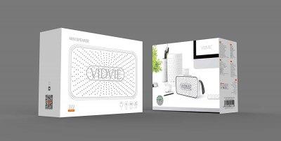 Портативная колонка VIDVIE GO 910W White (0017)