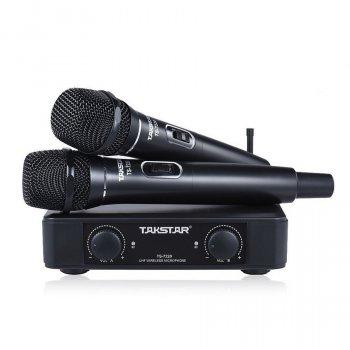 Радіомікрофон Подвійна радіосистема, колір чорний Takstar TS-7220HH (1575)