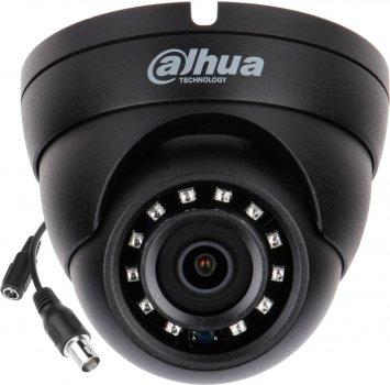 HDCVI видеокамера Dahua DH-HAC-HDW1200RP-BE (2.8 мм) (DH-HAC-HDW1200RP-BE-28)