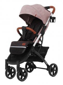 Прогулочная коляска CARRELLO Astra New CRL-5505 Apricot Pink +дождевик S (CRL-5505)
