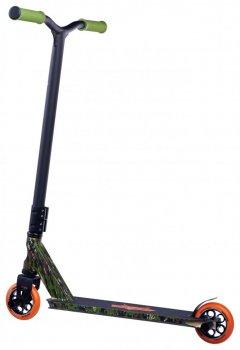 Трюковий самокат Maraton WarPrime з рульовою системою HIC + 2 пеги, Камуфляж