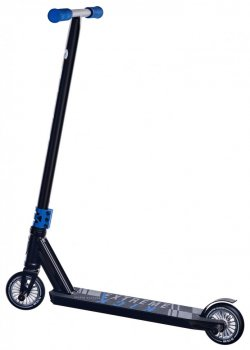 Трюковий самокат Maraton DEXTER з рульовою системою HIC + 2 пеги, Синій Металік