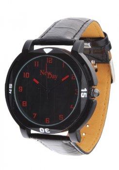 Мужские часы NewDay NDM287h с арабской цифрой черные
