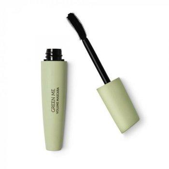 Тушь для ресниц объемная Kiko Milano GREEN ME Volume Mascara 101-Pure Black /Черная, 11 ml (8025272646741)