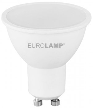 Світлодіодна лампа EUROLAMP SMD MR16 5W GU10 4000K (LED-SMD-05104(P))