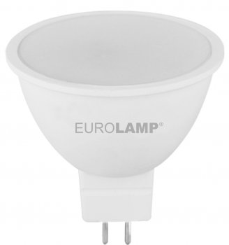 Світлодіодна лампа EUROLAMP SMD MR16 7W GU5.3 4000K (LED-SMD-07534(P))