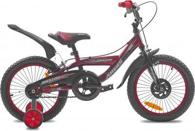 """Детский велосипед Ardis Amazon 16"""" 9"""" Красный (0439)"""