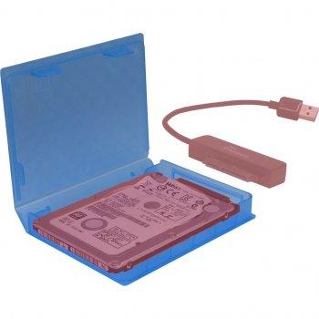 """Бокс Argus для HDD/SSD 2.5"""" синій (88885391)"""