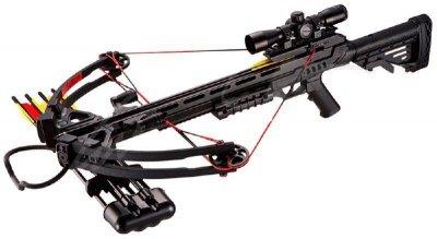 Арбалет Man Kung MK-XB52BK-KIT Stalker ц: черный