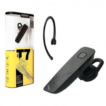 Bluetooth гарнитура Remax RB-T7 черная