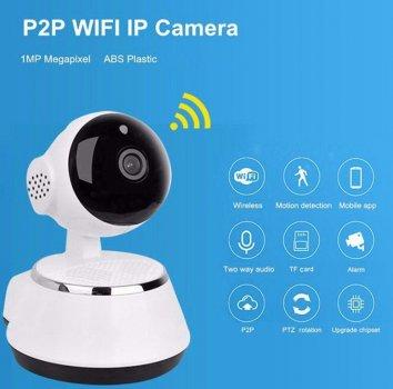 Камера видеонаблюдения WIFI Smart NET camera Q6 с записью