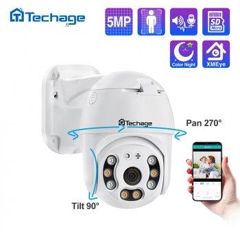 Уличная IP камера видеонаблюдения Techage CAMERA CAD N3 A6 WIFI IP 360/90 поворотная с удаленным доступом