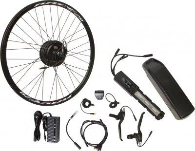 "Електричний велонабір на раму Velotrade Мотор-колесо 26"" задній редуктор 350 Вт 36 В 12.5 А·год 17 A (ELBK-054)"