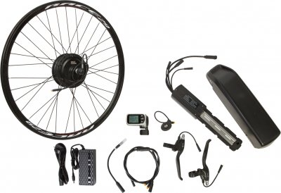 "Електричний велонабір на раму Velotrade Мотор-колесо 29"" задній редуктор 350 Вт 36 В 8.8 А·год 17 A (ELBK-076)"