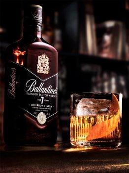 Віскі Ballantine's Bourbon Finish 7 Y.O 0.7 л 40% (5000299628034)