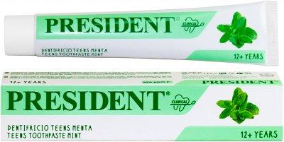 Детская зубная паста President Clinical Teens Мята от 12 лет 50 мл (8030009701907)