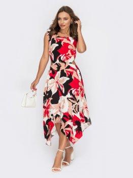 Платье Dressa 53879 Коралловое