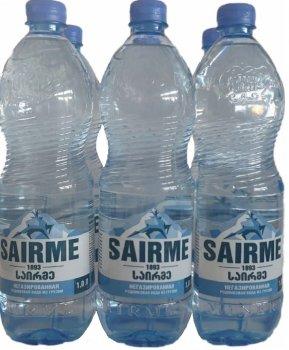 Упаковка джерельної негазованої води Sairme 1 л х 6 пляшок (4860001590391)