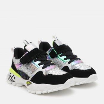 Кросівки Kimboo DD569-3A Чорно-срібні