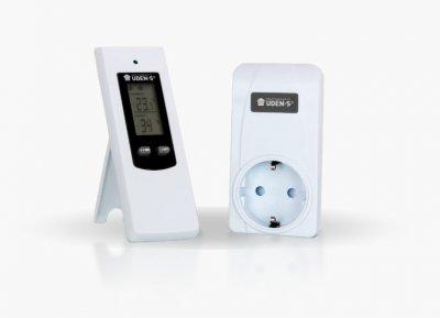 Терморегулятор бездротовий Uden–TW розетковий