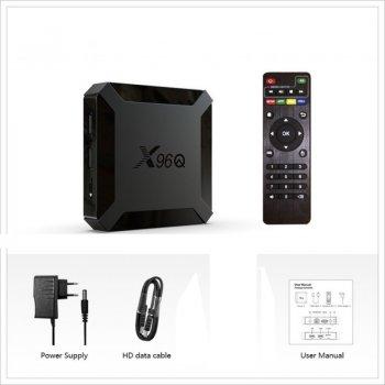 Смарт ТВ Приставка X96Q 2/16GB Android 10.0 ALLWINNER H313 (Mini)