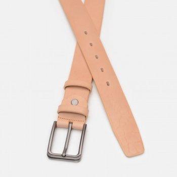 Ремень кожаный Sergio Torri 16-0071/35 беж 135-140 см Бежевый (2000000023267)