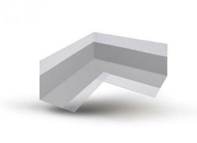 Гидроизоляционная лента Izolex угол внутренний для уплотнения примыканий NWPL2/1